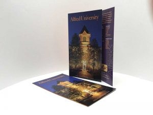 Promotional brochure for Alfred University