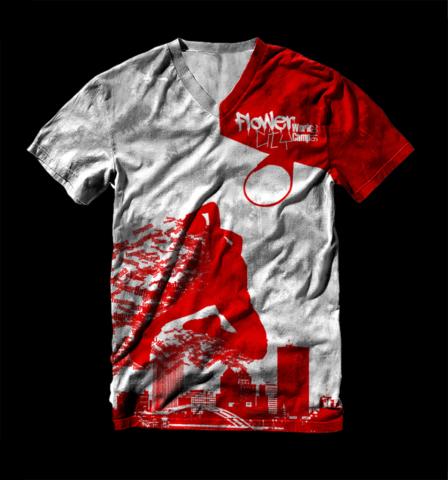 One color T-Shirt design