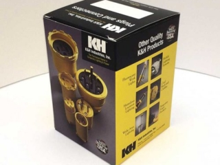 K & H Industries Plugs and Connectors Packaging
