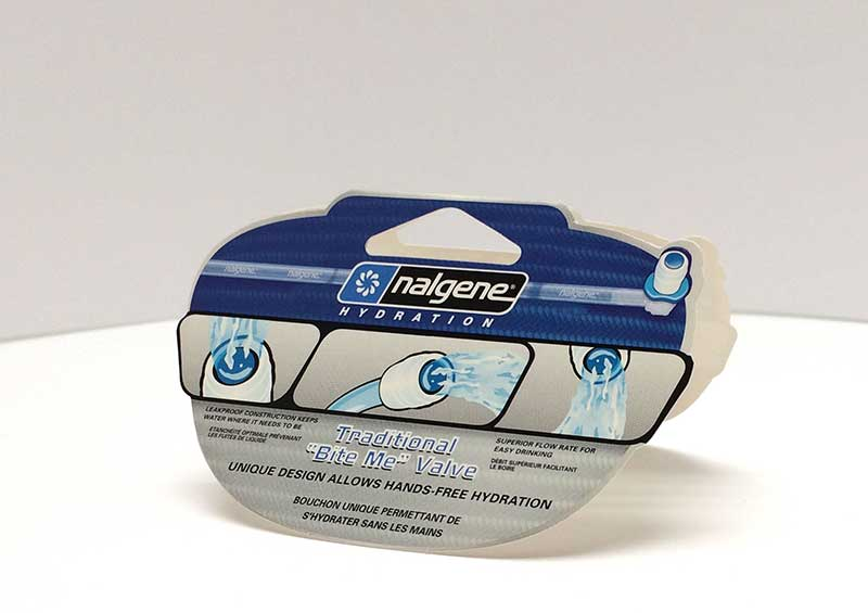 Nalgene Hydration Product Hang Tag